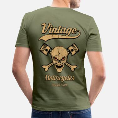 Moto vintage motorcycles team 04 - T-shirt moulant Homme