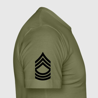 Master Sergeant MSG US Army, Mision Militar ™ - Männer Slim Fit T-Shirt