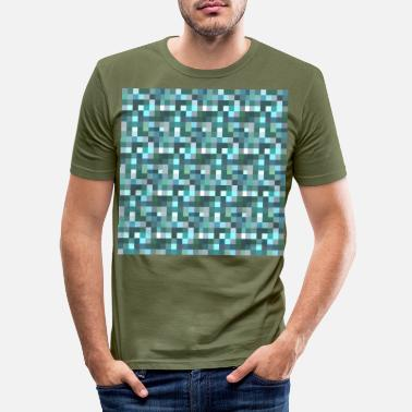 Pixel pixelated - Men's Slim Fit T-Shirt