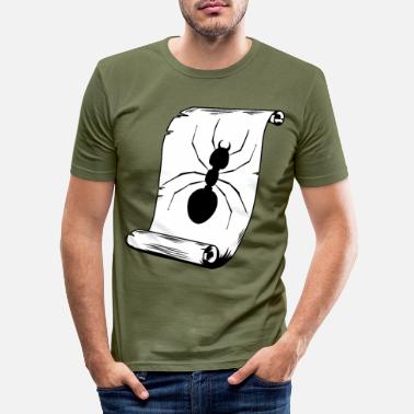Insect Ant insect insect - Men's Slim Fit T-Shirt