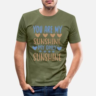 Travel You are my - Adventure Design - Men's Slim Fit T-Shirt