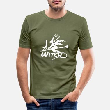 Witch Witch Witch - Men's Slim Fit T-Shirt