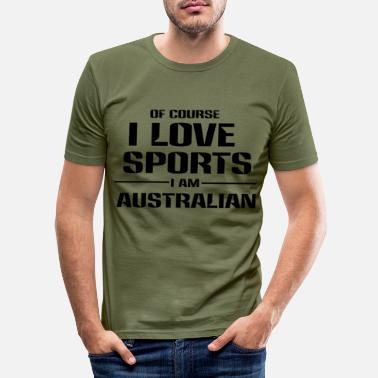 Australian Australian - Men's Slim Fit T-Shirt