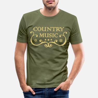 Countrymusic CountryMusic - T-shirt moulant Homme