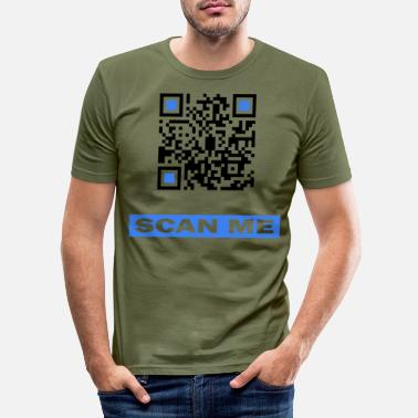 Scanner Scan me QR Code - Men's Slim Fit T-Shirt