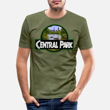 Underground Central Park - Men's Slim Fit T-Shirt