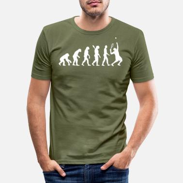 Tennis Evolution Tennis - T-shirt slim fit herr