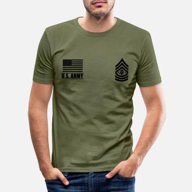 Us Sergeant Major of the Army SMA US Army - Men's Slim Fit T-Shirt