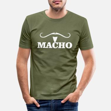 Macho MACHO - T-shirt slim fit herr