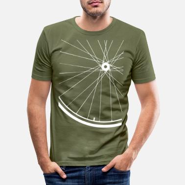 Road Bike Road bike rim - Men's Slim Fit T-Shirt