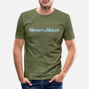 Sour Sweet & sour - Men's Slim Fit T-Shirt