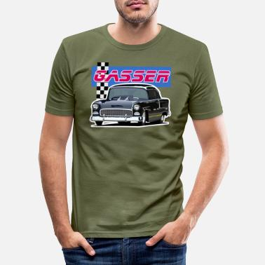 Gas Gasser - Slim fit T-shirt mænd