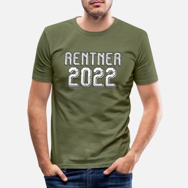 2022 Gepensioneerden 2022 - Mannen slim fit T-shirt