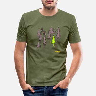 Forest Forest - forest - Men's Slim Fit T-Shirt