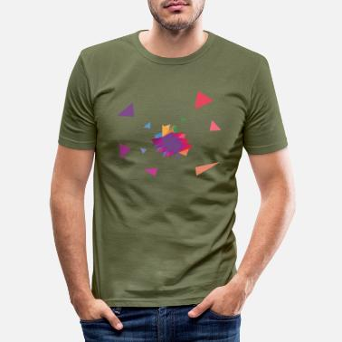 Rectangle Rectangle / rectangle - Men's Slim Fit T-Shirt