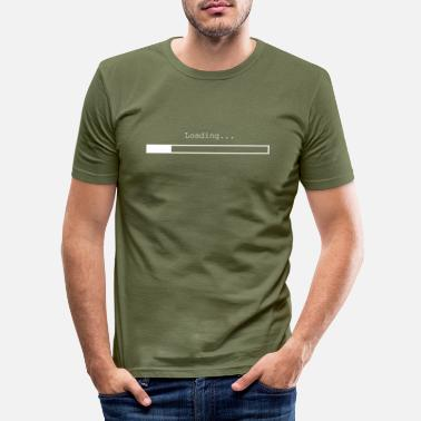Laden Laden - Männer Slim Fit T-Shirt