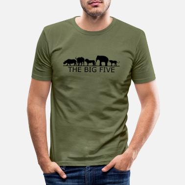 Safari Safari - Männer Slim Fit T-Shirt