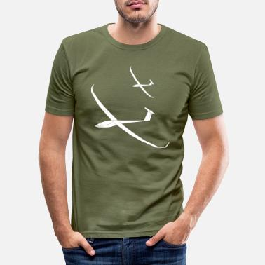 Svævefly Svævefly Team Thermal glide pilot - Slim fit T-shirt mænd