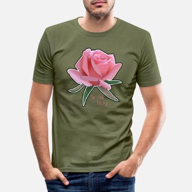 Ros Rosa Rosa - T-shirt slim fit herr