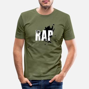 Rap RAP - Slim fit T-shirt mænd