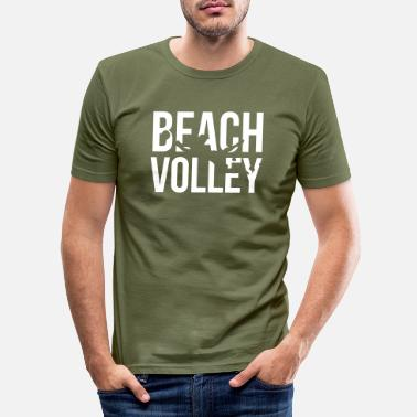 Volley beach volley - Men's Slim Fit T-Shirt