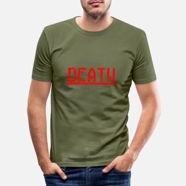 Death Penalty death - Men's Slim Fit T-Shirt