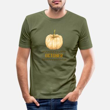 October october - Men's Slim Fit T-Shirt