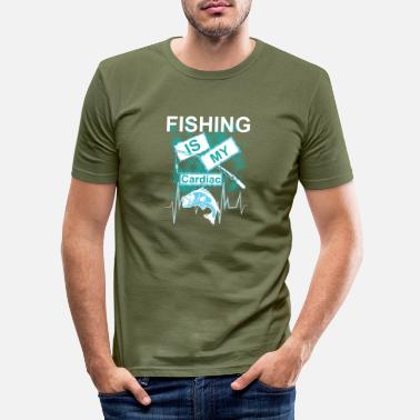 Fishing Fishing Hobby Gift Idea - Men's Slim Fit T-Shirt