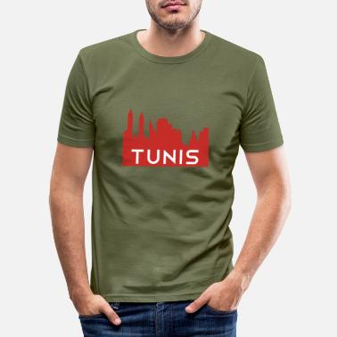 Djerba Tunis Skyline Tunisia Djerba - Men's Slim Fit T-Shirt