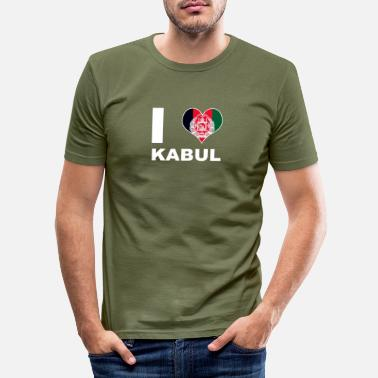 Kabul Kabul - Slim fit T-skjorte for menn