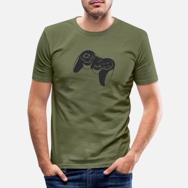 Joystick joystick - Men's Slim Fit T-Shirt