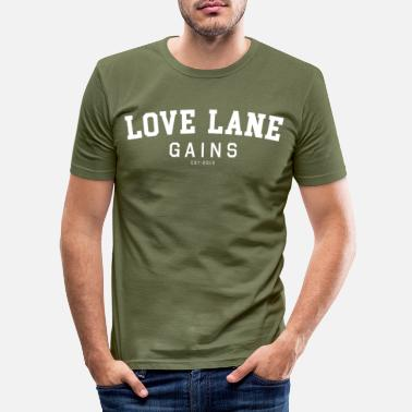 Merseyside Cross Fit Liverpool Love Lane - Slim fit T-skjorte for menn