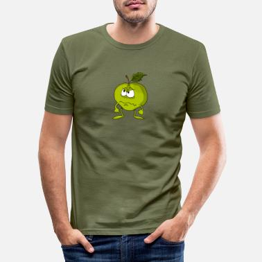 Sour Sour apple - Men's Slim Fit T-Shirt