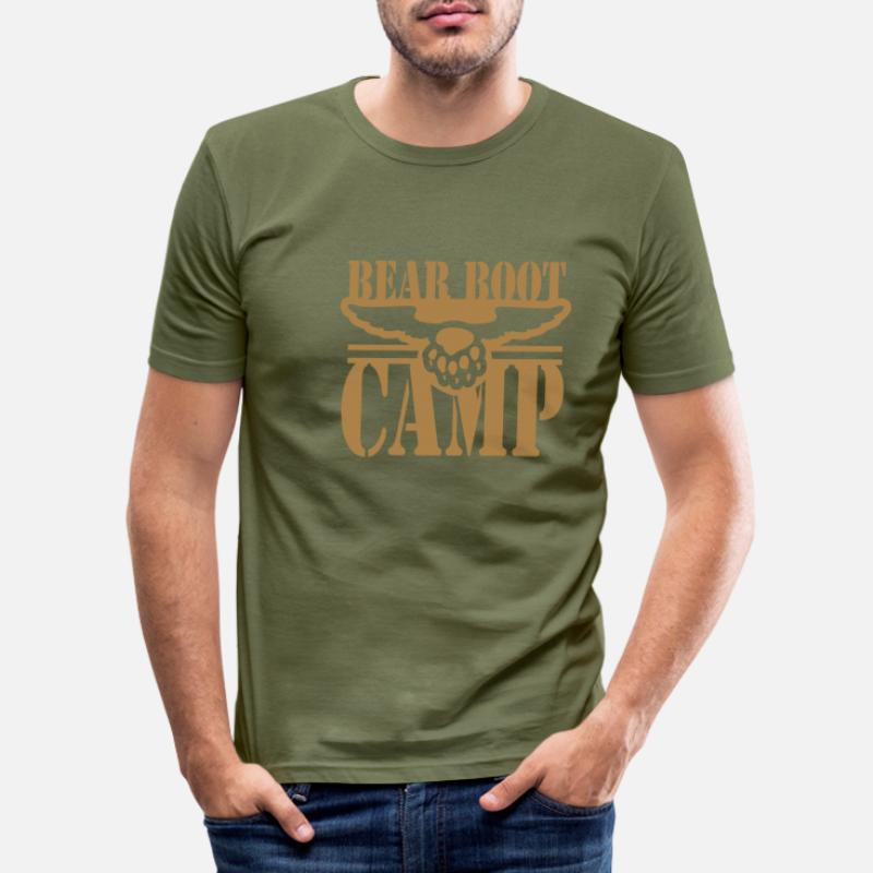 Commander T Camp En Boot À LigneSpreadshirt Shirts 0PywOm8nvN