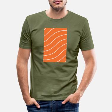 Salmon Salmon - salmon - Men's Slim Fit T-Shirt