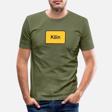 Rheinland COLOGNE COLONIA NRW RHEINLAND KÖLSCH GIFTS - Men's Slim Fit T-Shirt