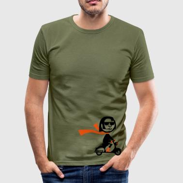 Vespa Cruiser - Men's Slim Fit T-Shirt