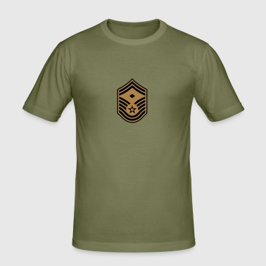 Senior Master Sergeant SMSgt First Sergeant - Men's Slim Fit T-Shirt