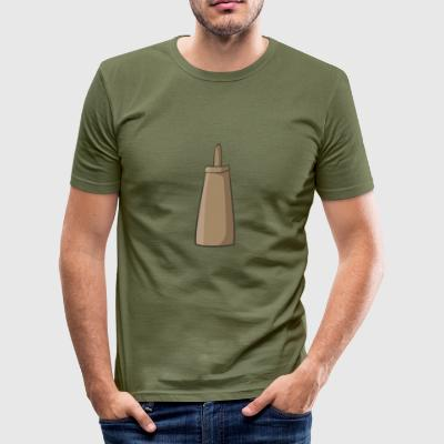 barbecue sauce - Männer Slim Fit T-Shirt