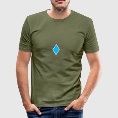 Diamond blue - Men's Slim Fit T-Shirt