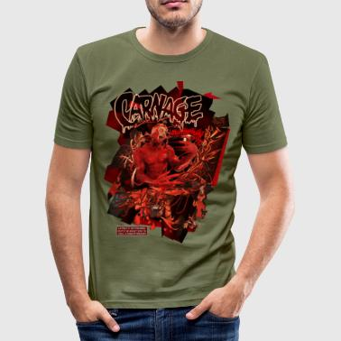 carnage - Tee shirt près du corps Homme