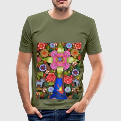 arbol_de_la_vida_ - slim fit T-shirt