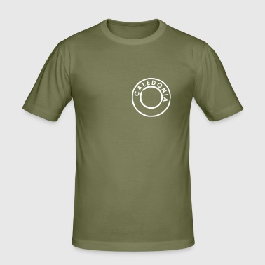 Caledonia, Scotland - Men's Slim Fit T-Shirt