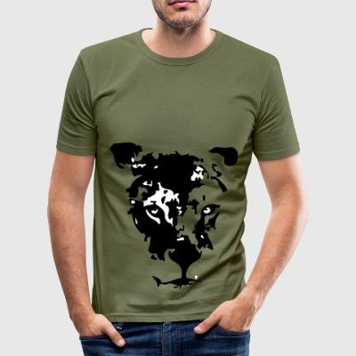 Maouli the lioness - Men's Slim Fit T-Shirt