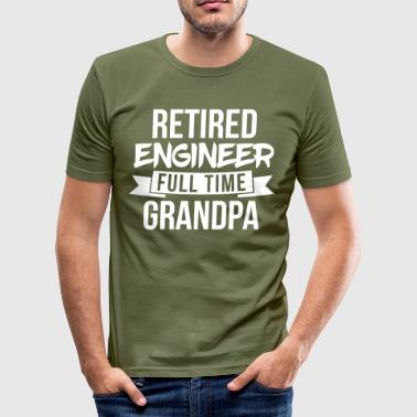 Full time Grandpa - Men's Slim Fit T-Shirt