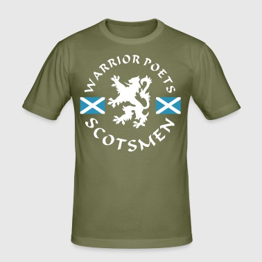 Scotlands Warrior-Poets - Männer Slim Fit T-Shirt