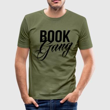 Book Gang - Slim Fit T-shirt herr