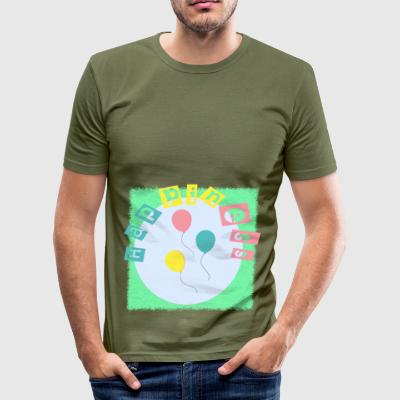 happiness - Men's Slim Fit T-Shirt