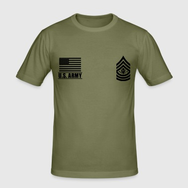 Sergeant Major of the Army SMA US Army - Männer Slim Fit T-Shirt