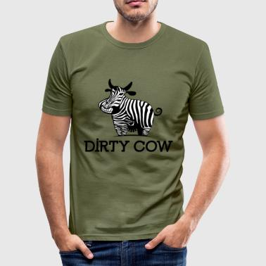 DIRTY_COW - slim fit T-shirt